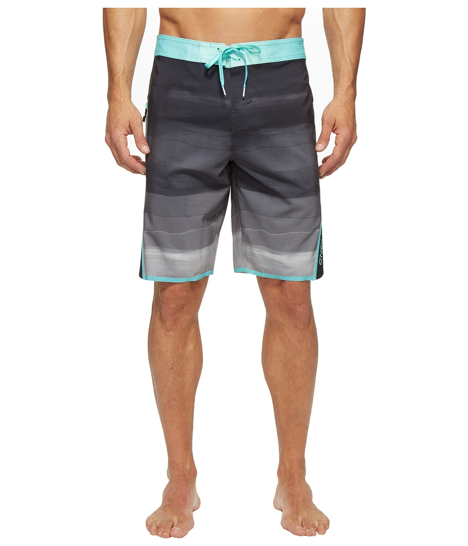 O'Neill - Superfreak Axiom Superfreak Series Boardshorts (Black) Men's Swimwear