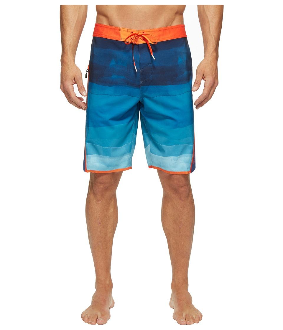 O'Neill - Superfreak Axiom Superfreak Series Boardshorts (Navy) Men's Swimwear