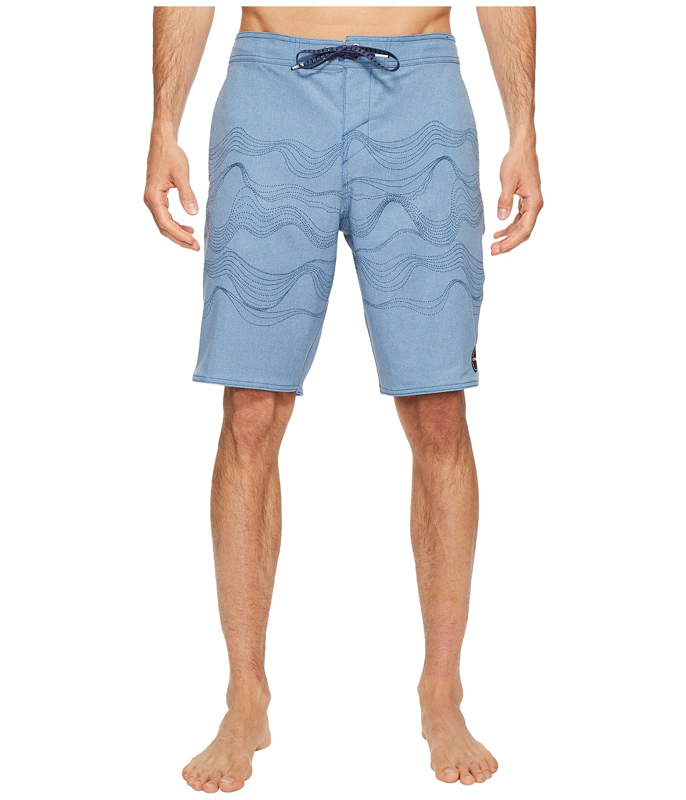 O'Neill - Hyperfreak Walkabout 24-7 Superfreak Series Boardshorts (Dusty Blue) Men's Swimwear