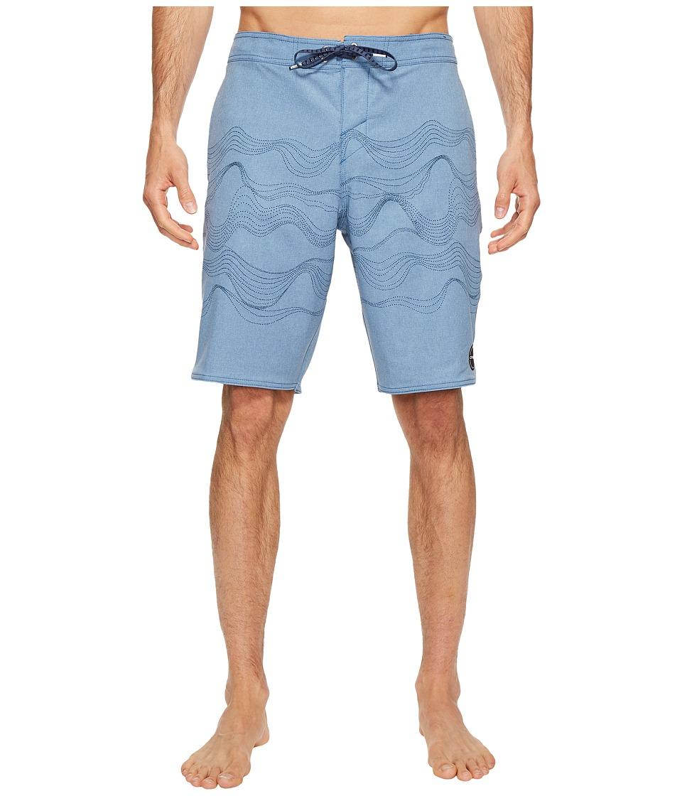 O'Neill - Hyperfreak Walkabout 24-7 Superfreak Series Boardshorts (Dusty Blue) Men's Swimwear