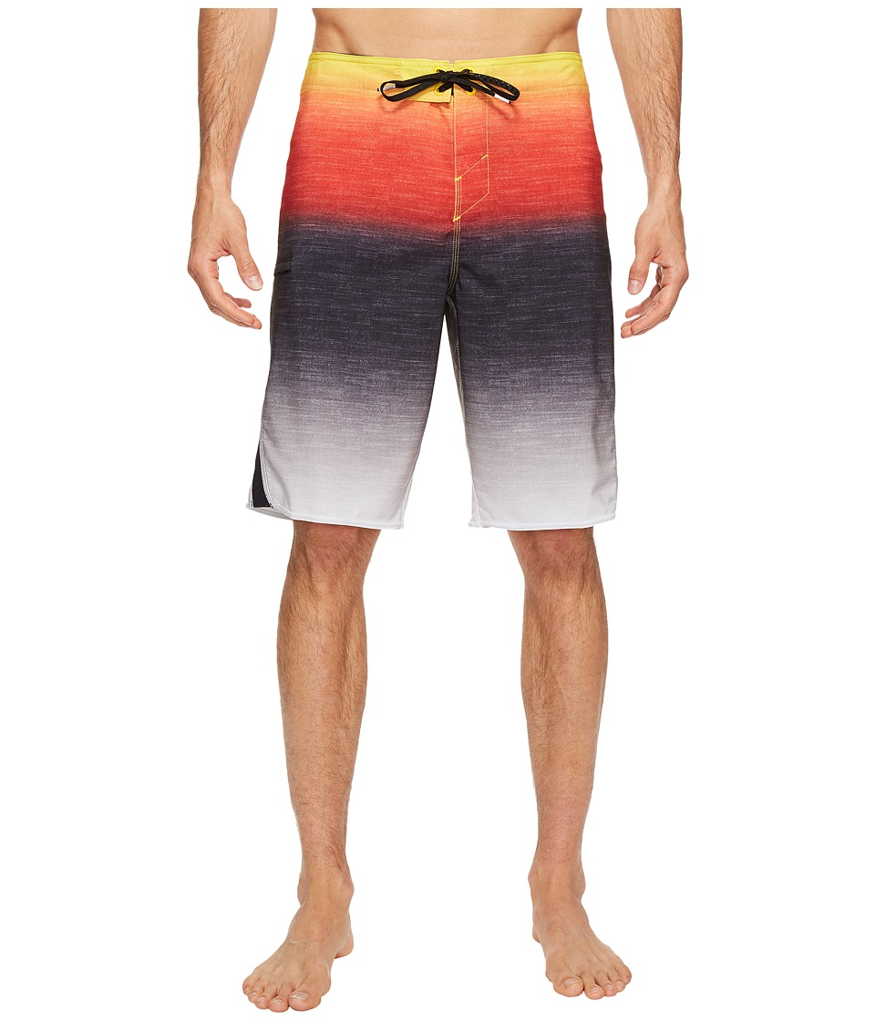 O'Neill - Superfreak Fader Superfreak Series Boardshorts (Red) Men's Swimwear