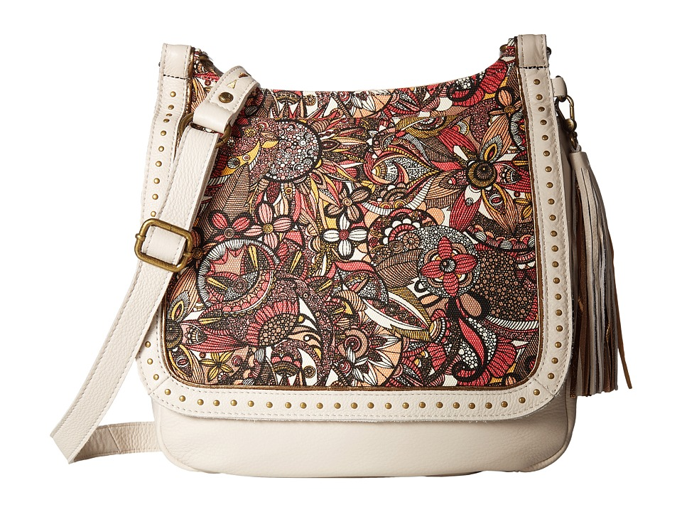 Sakroots - Artist Circle Seni Flap Crossbody (Ruby Spirit Desert) Cross Body Handbags