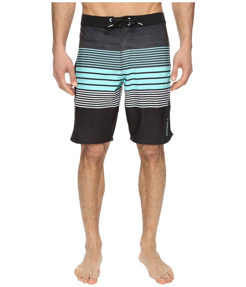 O'Neill - Superfreak Status Superfreak Series Boardshorts (Asphalt) Men's Swimwear
