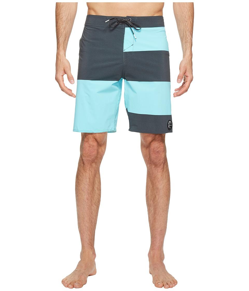 O'Neill - Hyperfreak Basis Superfreak Series Boardshorts (Turquoise) Men's Swimwear