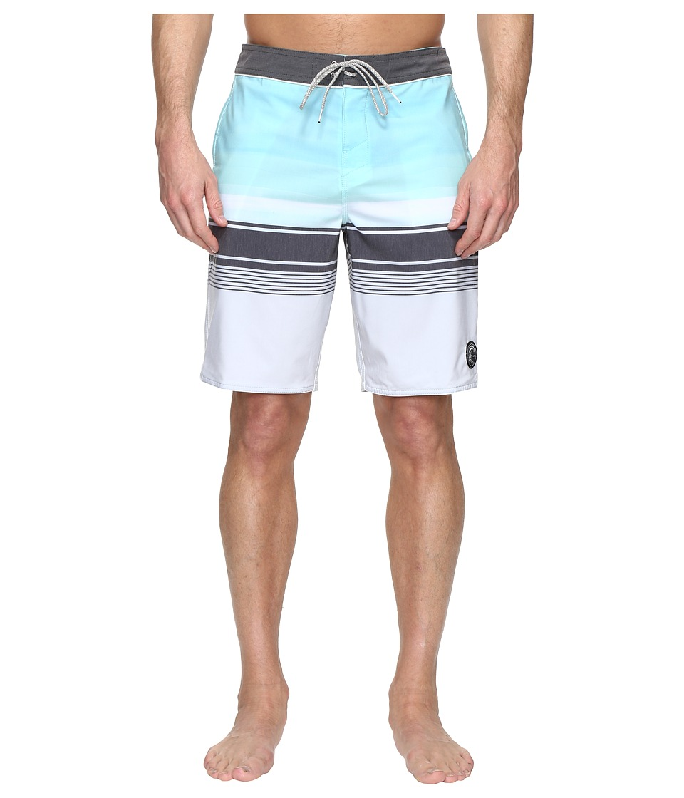 O'Neill - Hyperfreak Source 24-7 Superfreak Series Boardshorts (Light Grey) Men's Swimwear