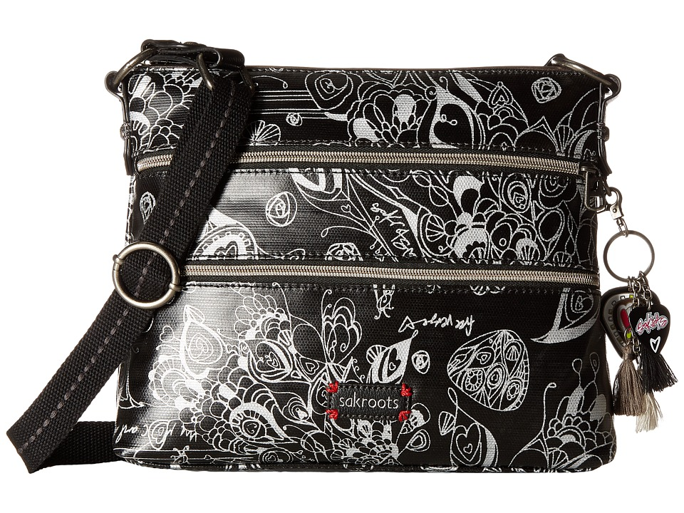 Sakroots - Artist Circle Basic Crossbody (Metallic Songbird) Cross Body Handbags