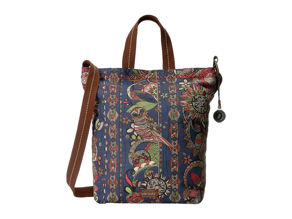 Sakroots - Artist Circle Campus Tote (Midnight Spirit Desert) Tote Handbags