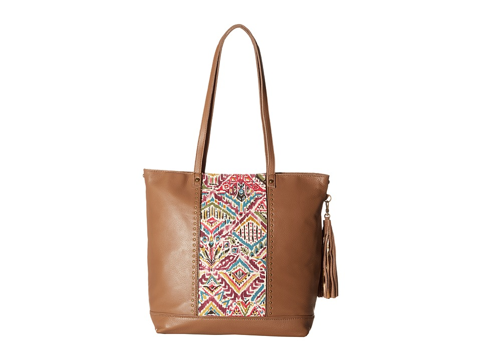 Sakroots - Seni Tote (Berry Brave Beauti) Tote Handbags
