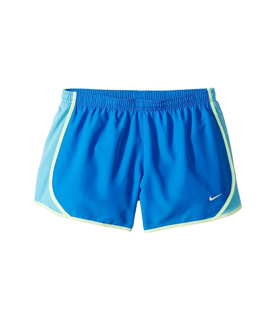 Nike Kids - Dry Tempo Running Short (Little Kids/Big Kids) (Light Photo Blue/Vivid Sky/Barely Volt) Girl's Shorts