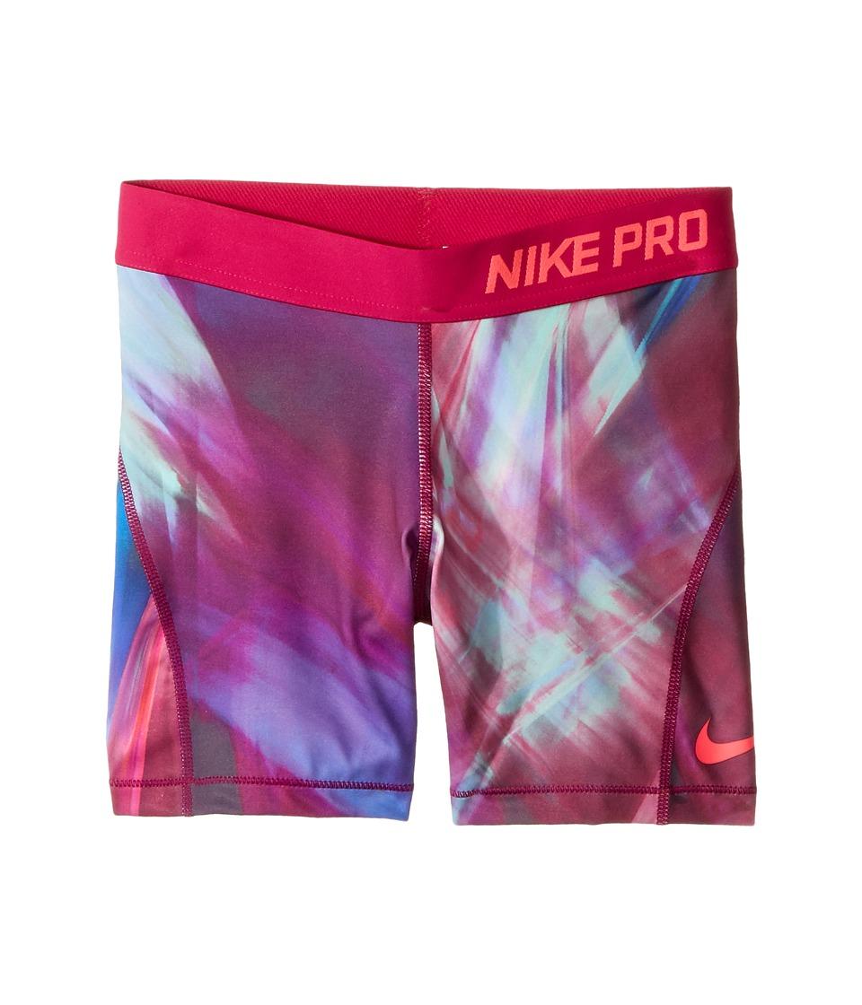 Nike Kids - Pro Short (Little Kids/Big Kids) (Vivid Pink/Sport Fuchsia/Racer Pink) Girl's Shorts