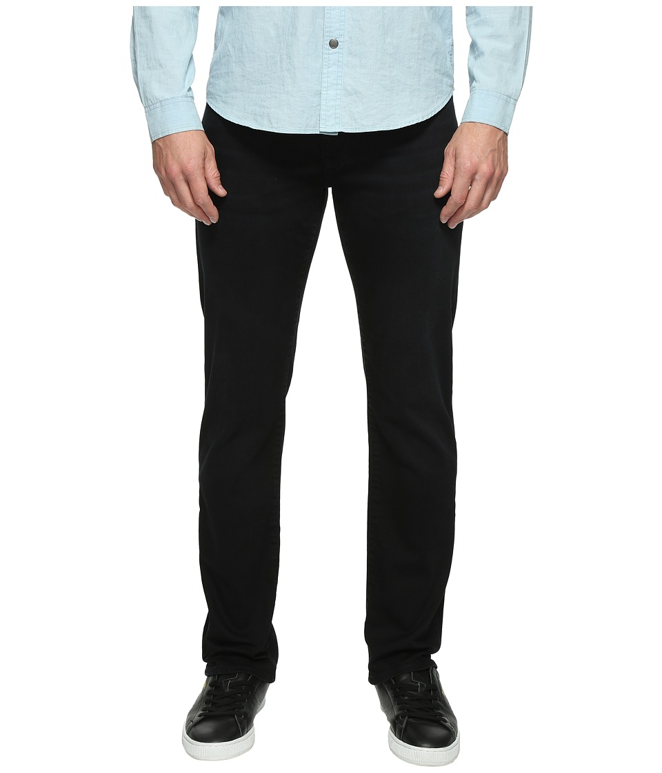 Mavi Jeans - Zach Regular Rise Straight Leg in Blue Black Williamsburg (Blue Black Williamsburg) Men's Jeans