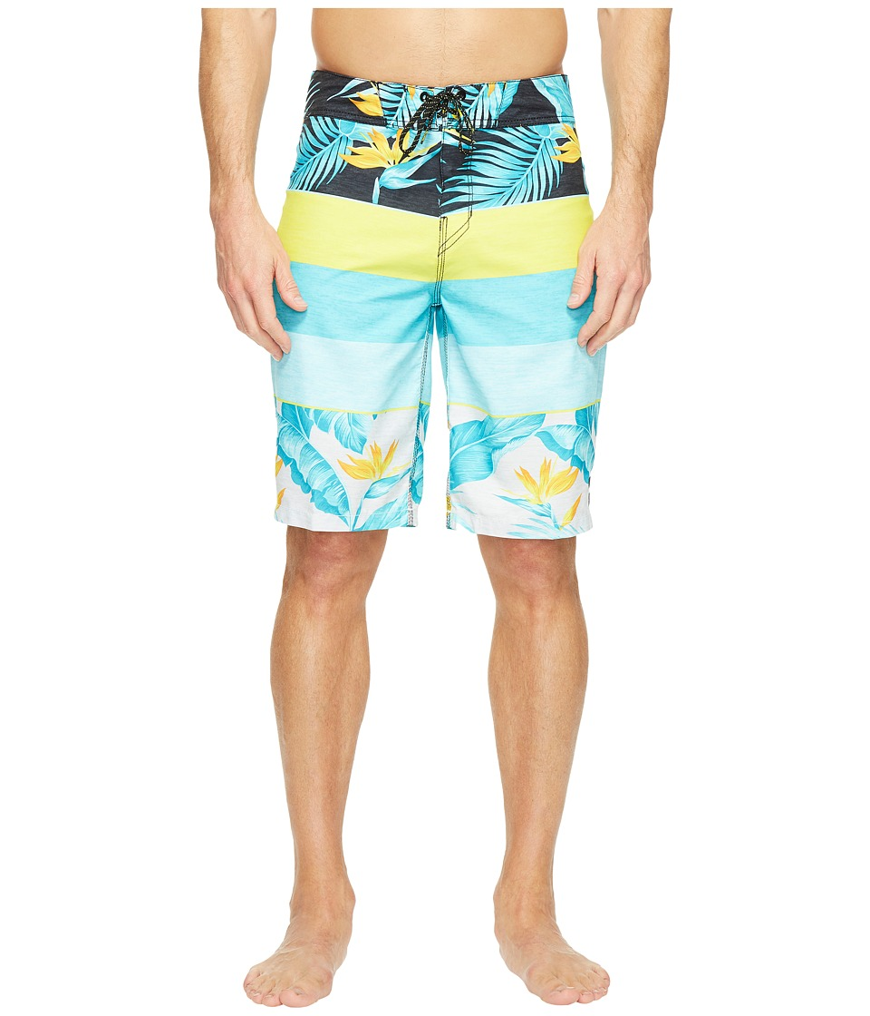 Billabong - Paradise Originals Boardshorts (Lime) Men's Swimwear