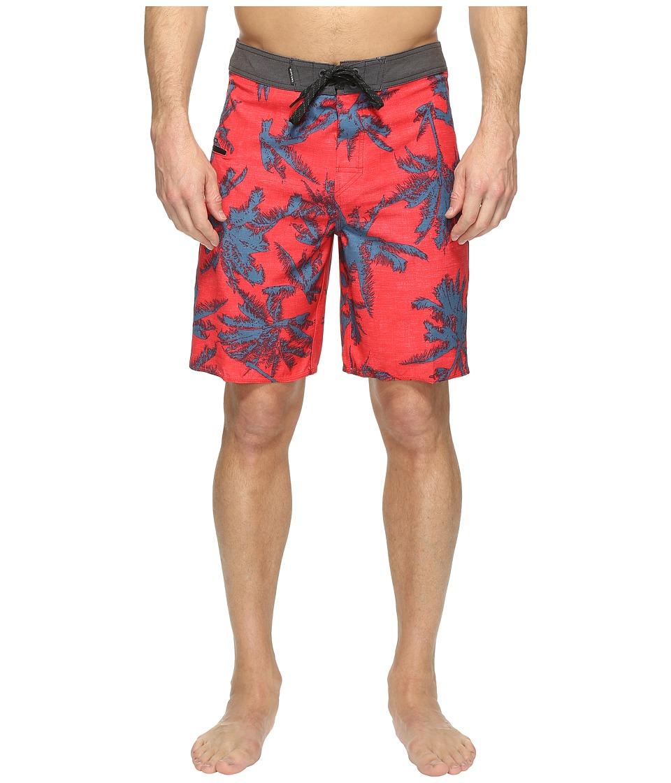 Rip Curl - Mirage Palmtime Boardshorts (Red) Men's Swimwear