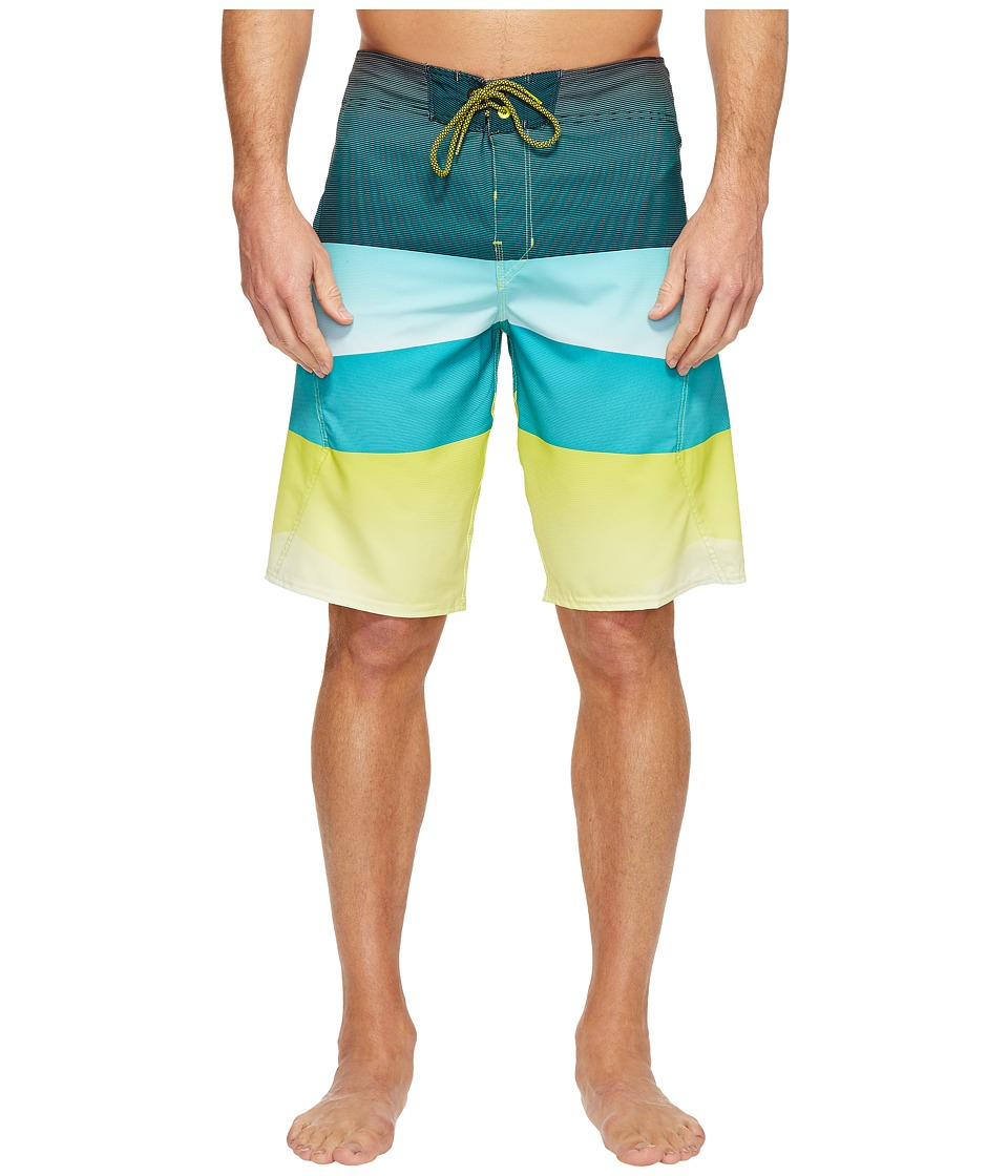 Billabong - Revolver X Boardshorts (Lime) Men's Swimwear