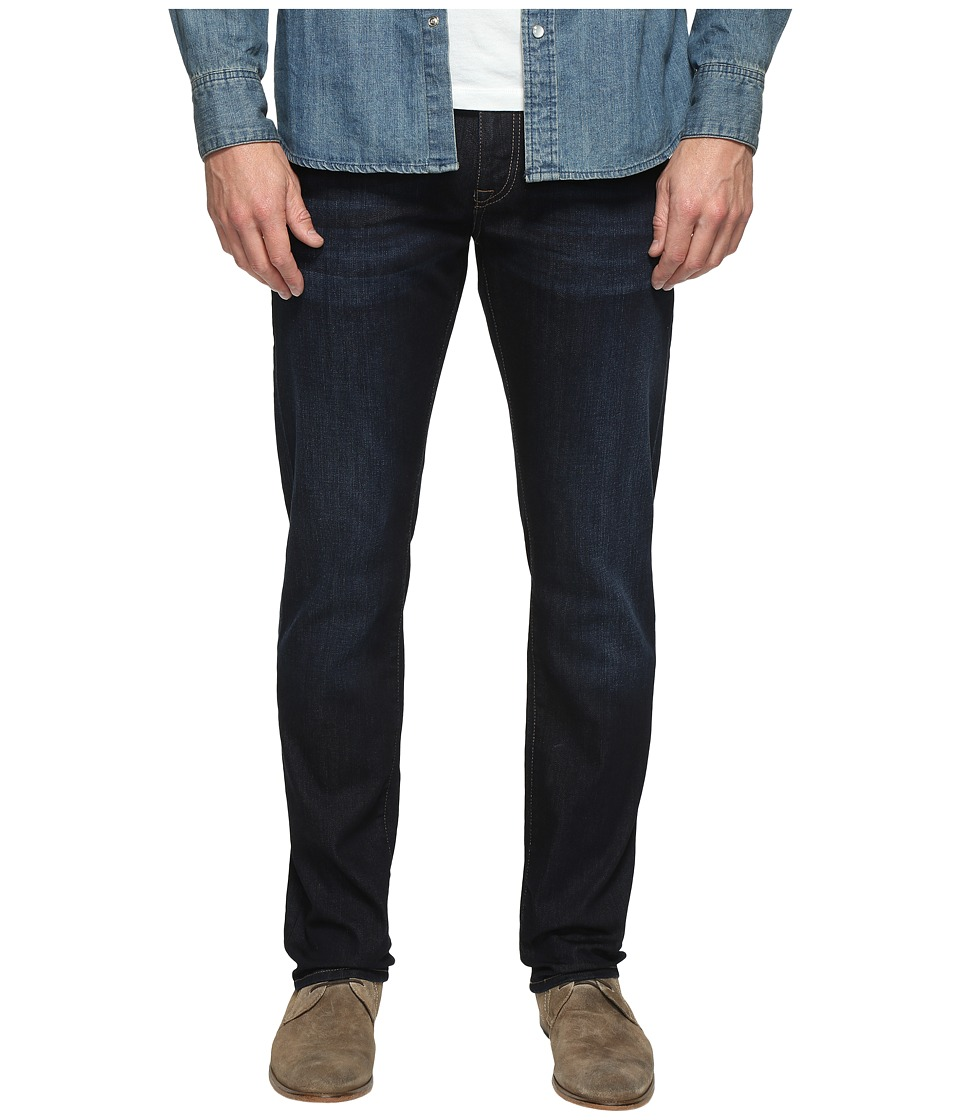 Mavi Jeans - Marcus Regular Rise Slim Straight Leg in Rinse Brushed Williamsburg (Rinse Brushed Williamsburg) Men's Jeans