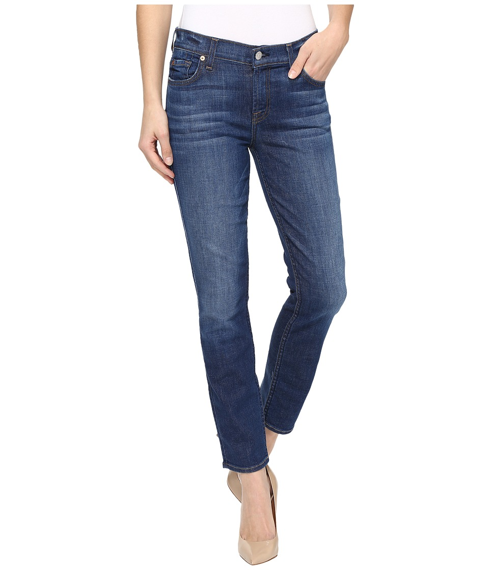 7 For All Mankind - Roxanne Ankle w/ Squiggle in Bondi Beach (Bondi Beach) Women's Jeans