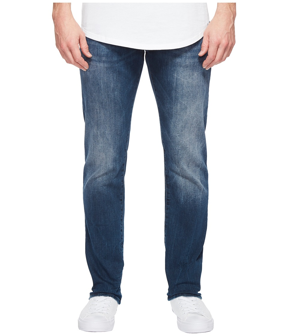 Mavi Jeans Zach Regular Rise Straight Leg in Foggy Williamsburg (Foggy Williamsburg) Men