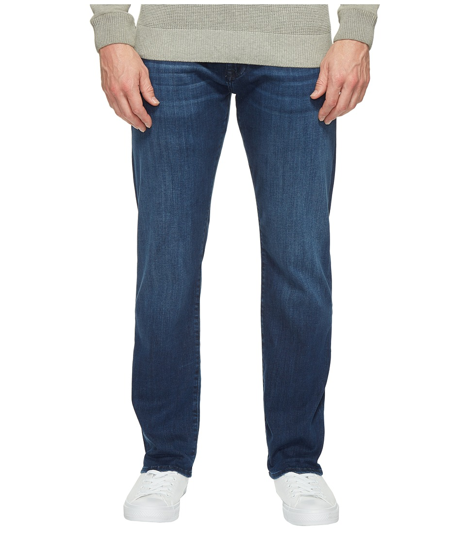Mavi Jeans Zach Regular Rise Straight Leg in Mid Comfort Move (Mid Comfort Move) Men