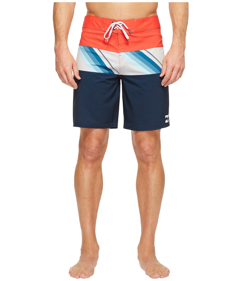 Billabong - Tribong X Boardshorts (Cyan) Men's Swimwear