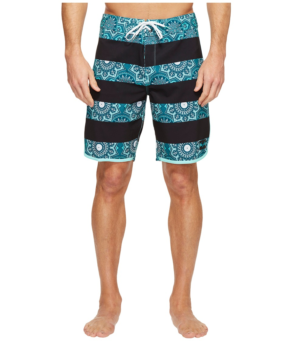 Billabong - 73 X Line Up Boardshorts (Ocean) Men's Swimwear