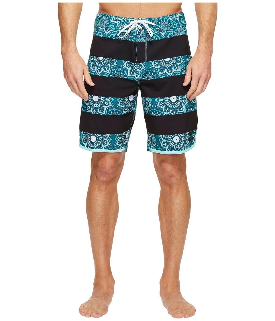Billabong - 73 X Line Up Boardshorts (Ocean) Men's Swimwear