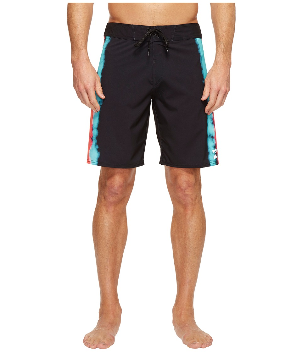 Billabong - Sundays X Riot Boardshorts (Black) Men's Swimwear