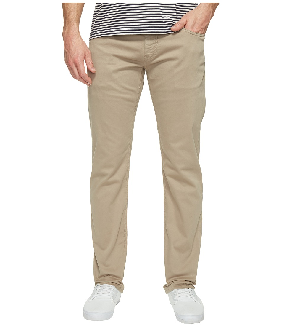 Mavi Jeans - Zach Regular Rise Straight Leg in Beige Twill (Beige Twill) Men's Jeans