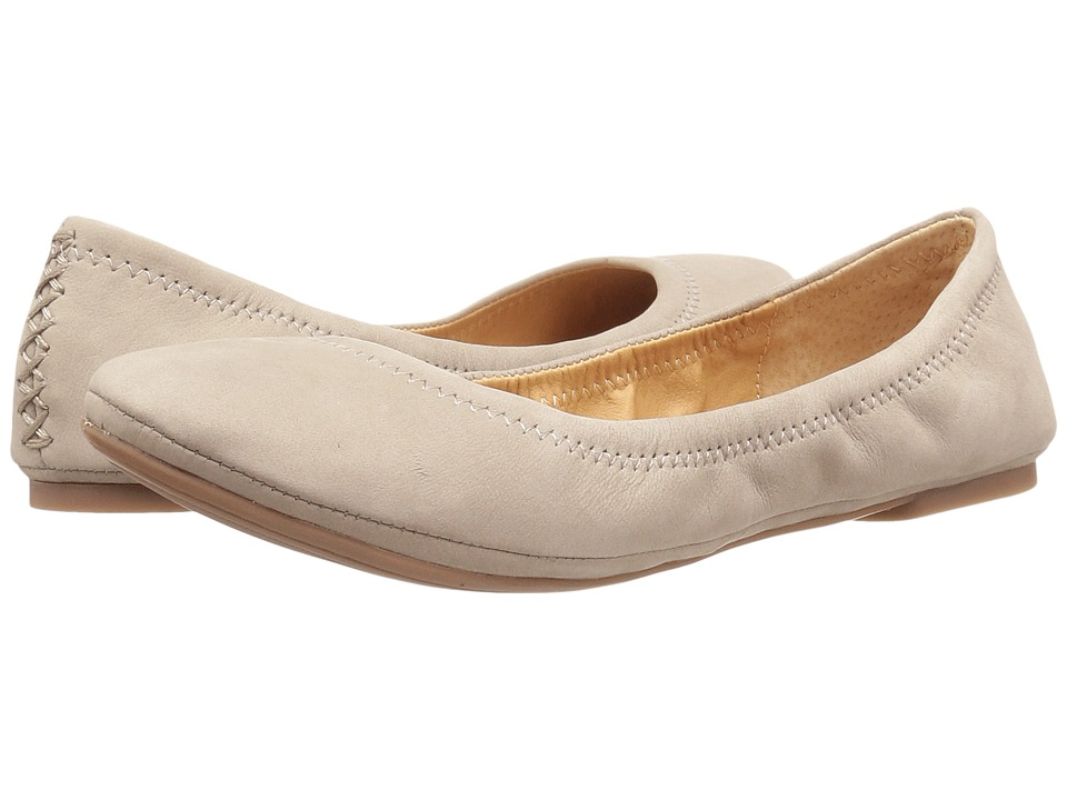Lucky Brand - Emmie (Warm Stone) Women's Flat Shoes