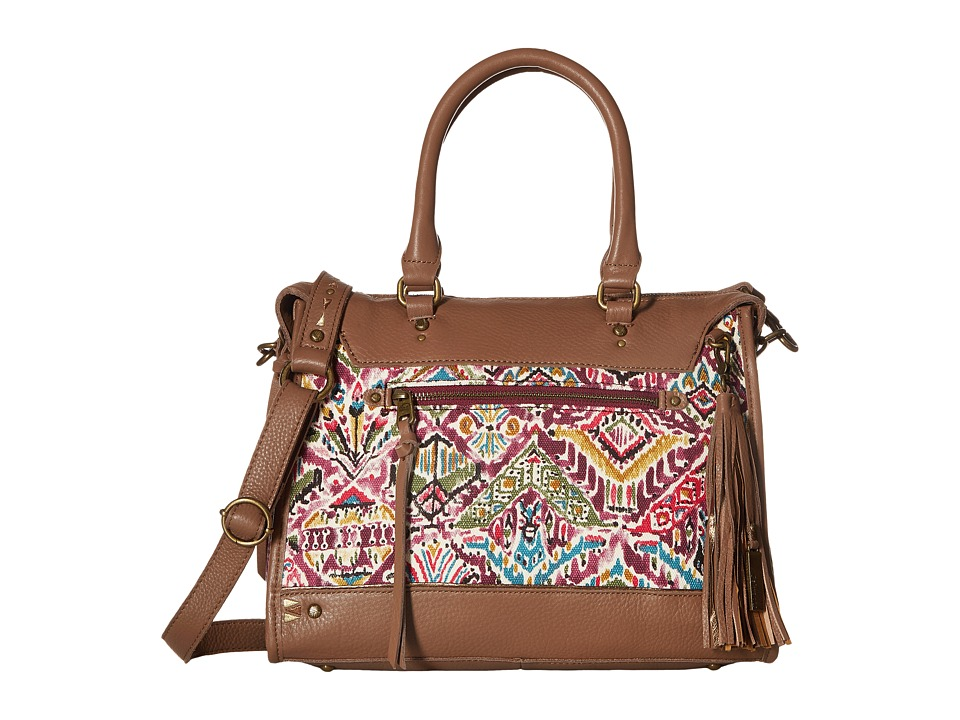 Sakroots - Artist Circle Seni Satchel (Berry Brave Beauti) Satchel Handbags