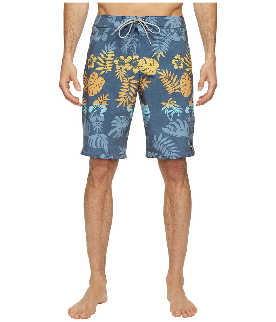 O'Neill - Hyperfreak Brotanical Boardshorts (Ocean) Men's Swimwear