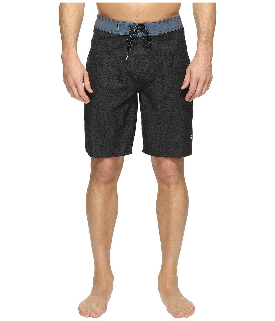 Rip Curl - Mirage Seedy Boardshorts (Black) Men's Swimwear