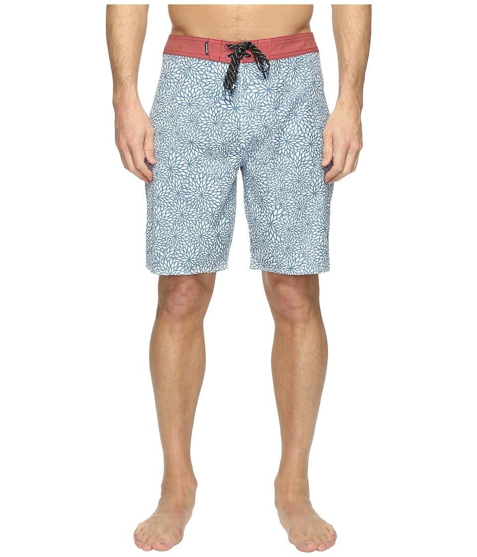 Rip Curl - Mirage Seedy Boardshorts (White) Men's Swimwear