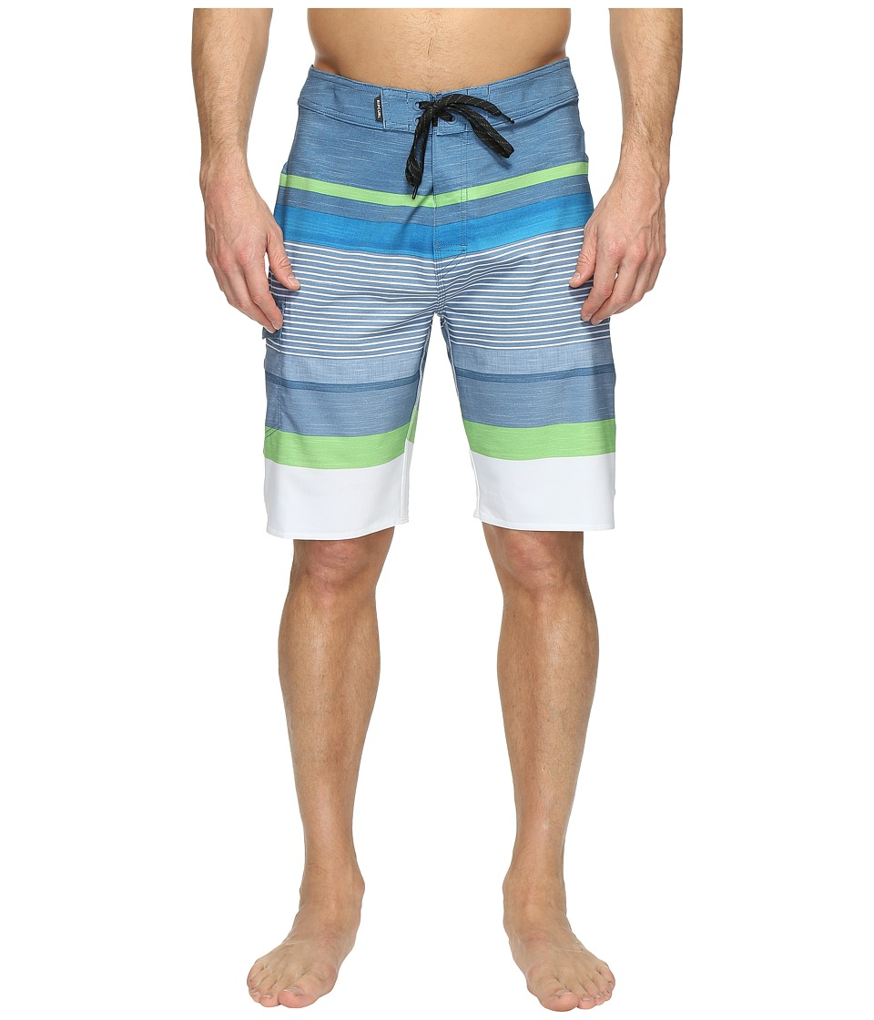 Rip Curl - Mirage Capture Boardshorts (Blue/Grey) Men's Swimwear