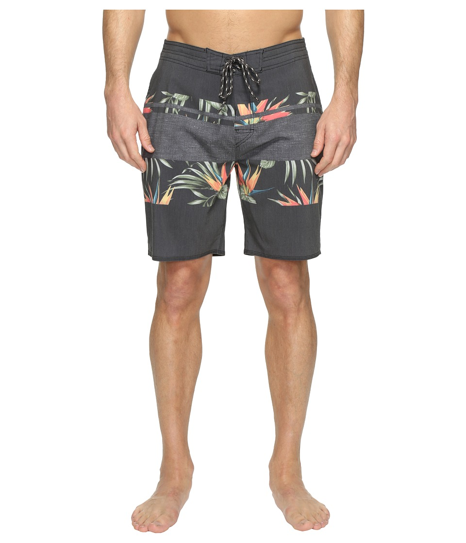 Rip Curl - Rapture Fill Layday Boardshorts (Black) Men's Swimwear