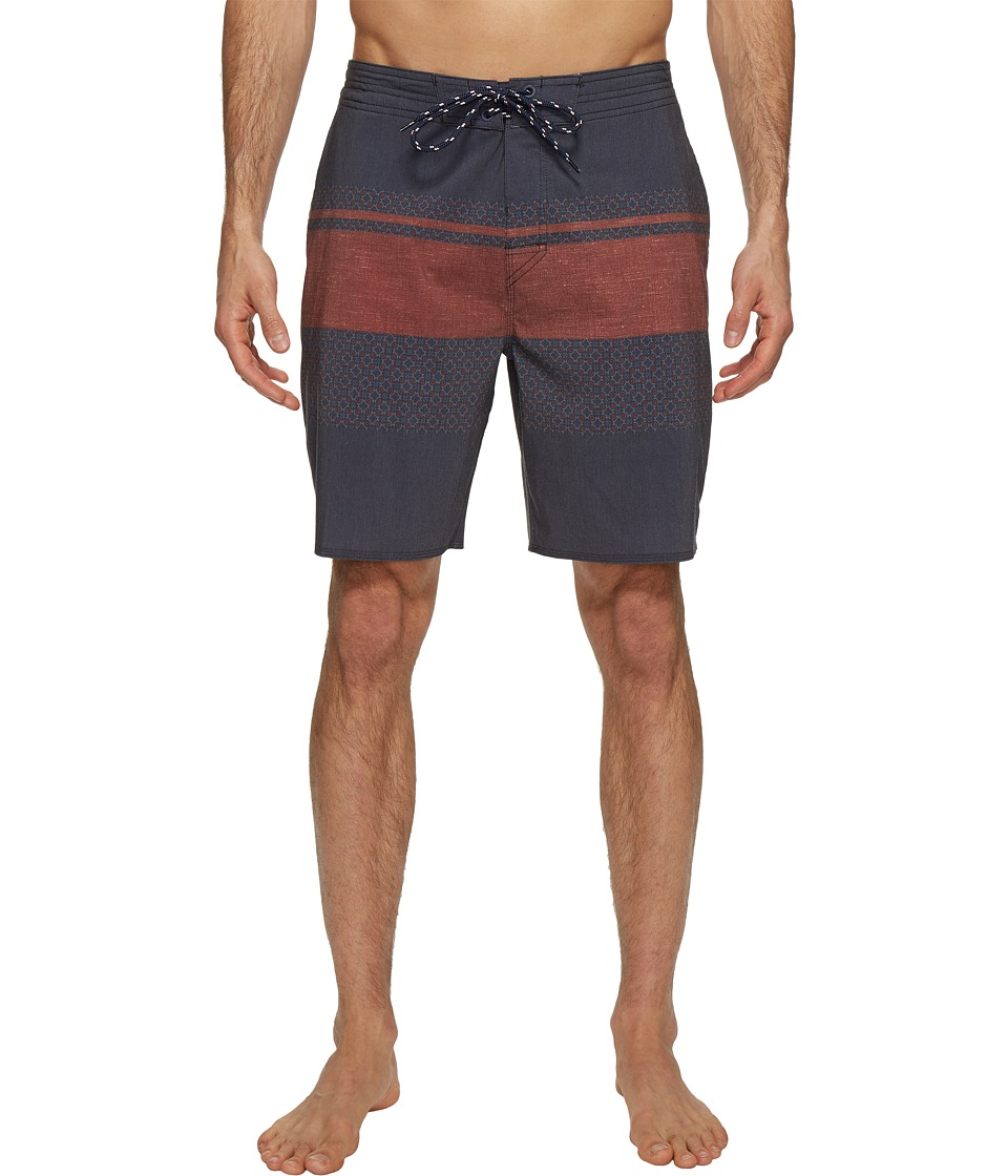 Rip Curl - Rapture Fill Layday Boardshorts (Navy) Men's Swimwear