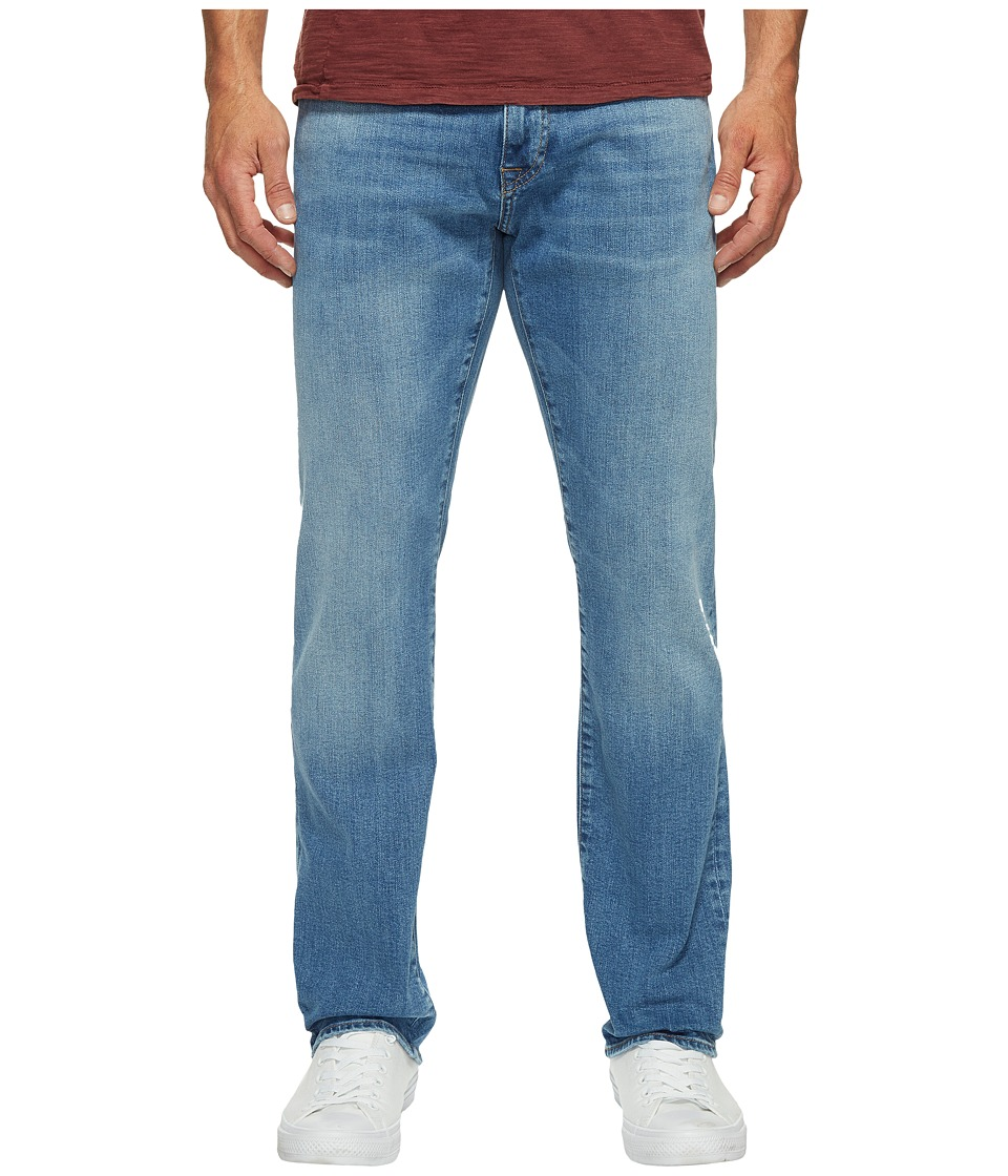 Mavi Jeans Zach Regular Rise Straight Leg in Light Williamsburg (Light Williamsburg) Men