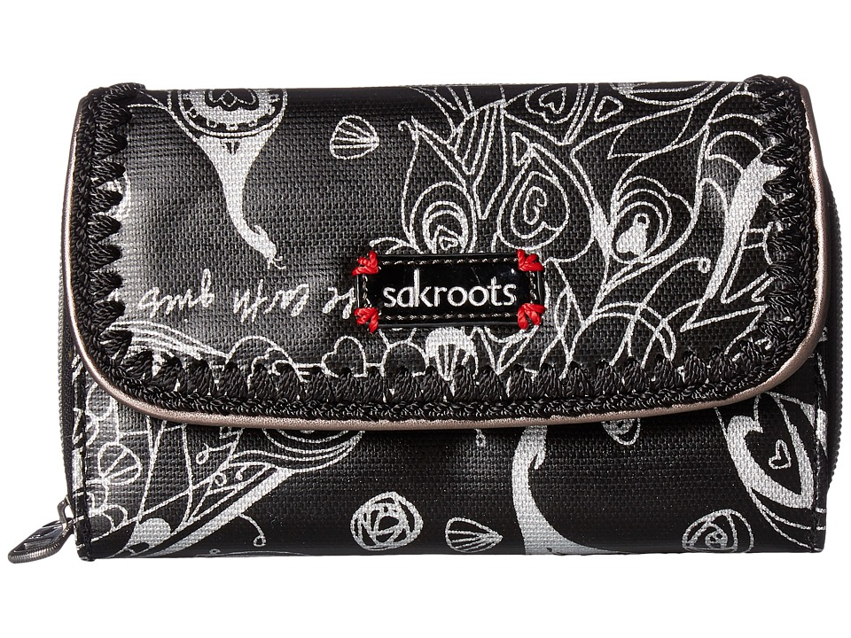 Sakroots - Artist Circle Xl Wallet (Metallic Songbird) Wallet Handbags