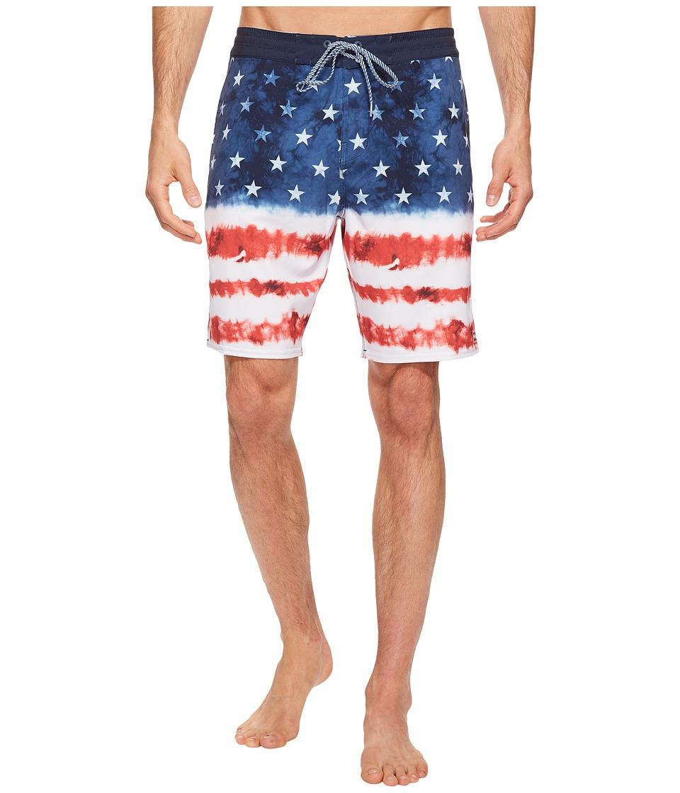 Billabong - Sundays Lo Tide Riot Boardshorts (Navy) Men's Swimwear