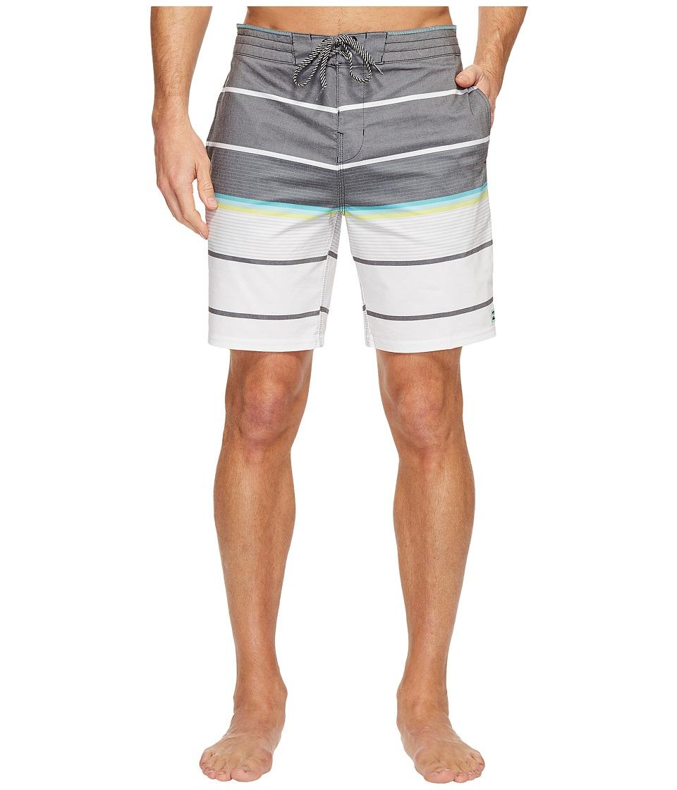 Billabong - Spinner Lo Tide Boardshorts (Black) Men's Swimwear