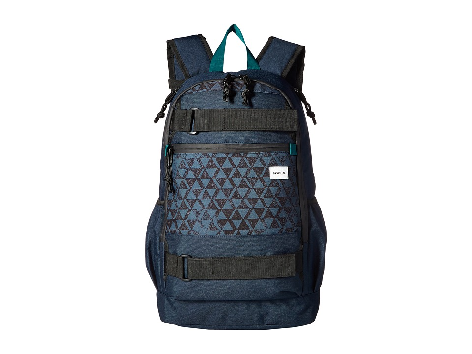 RVCA - Push Skate Delux (Navy) Backpack Bags