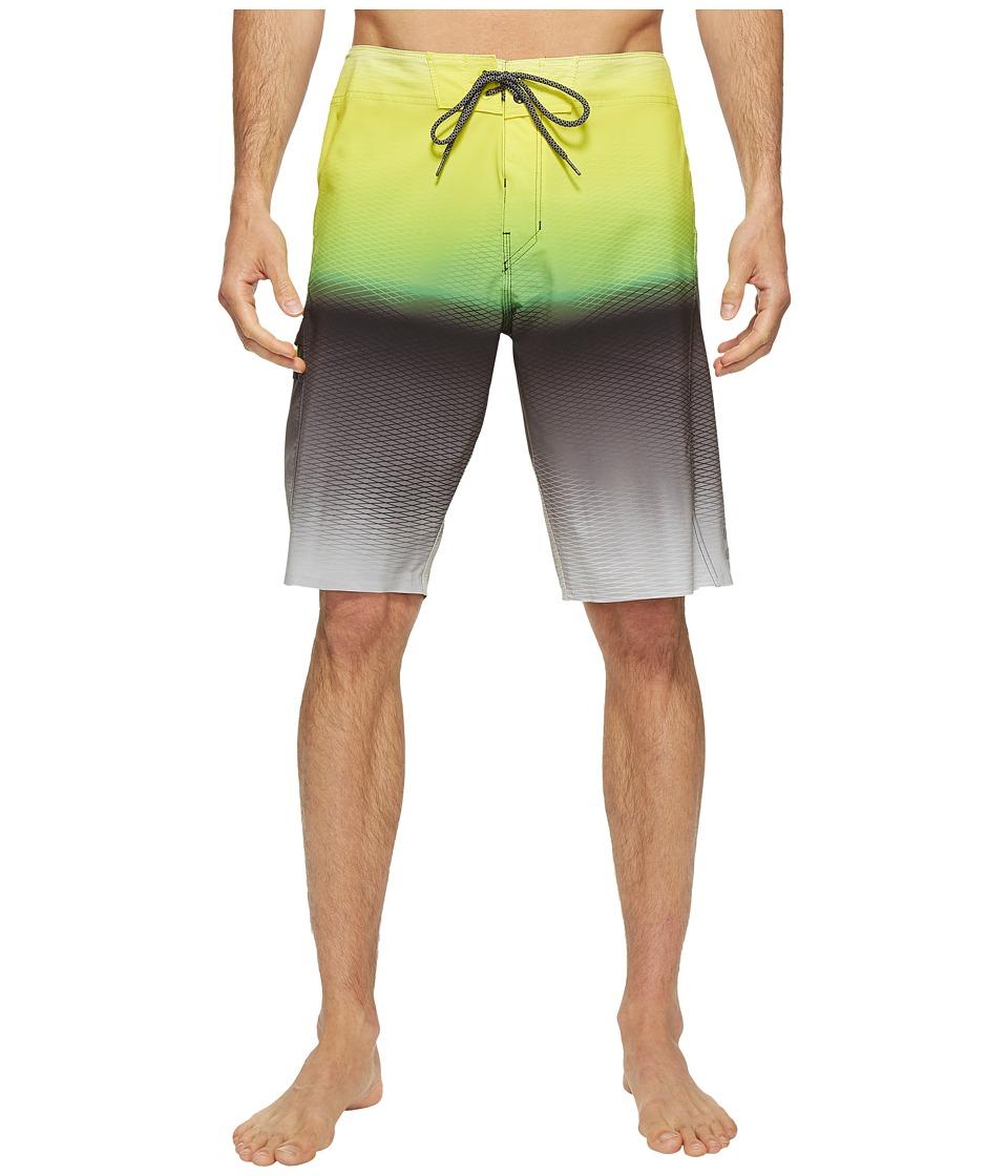 Billabong - Fluid X Boardshorts (Neo Lime) Men's Swimwear