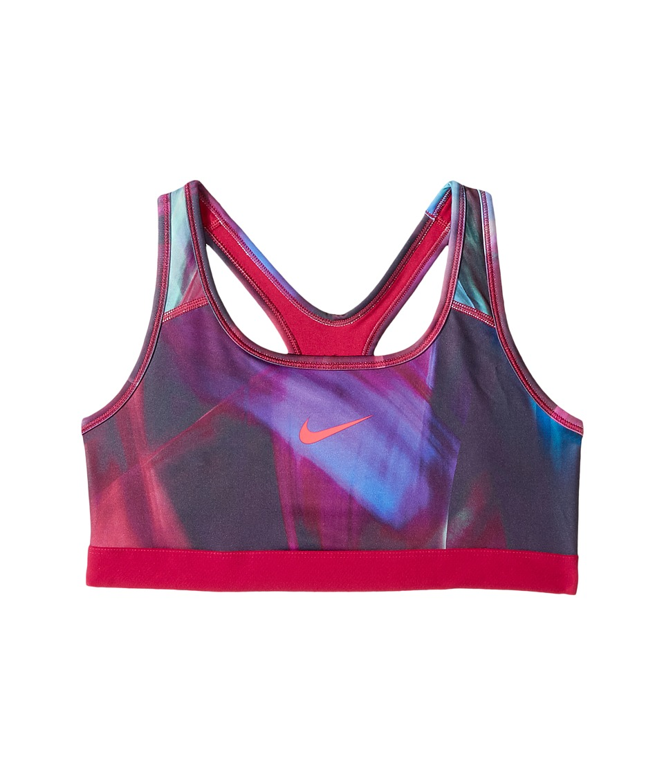 Nike Kids - Pro Classic Medium Support Sports Bra (Little Kids/Big Kids) (Sport Fuchsia/Sport Fuchsia/Racer Pink) Girl's Clothing