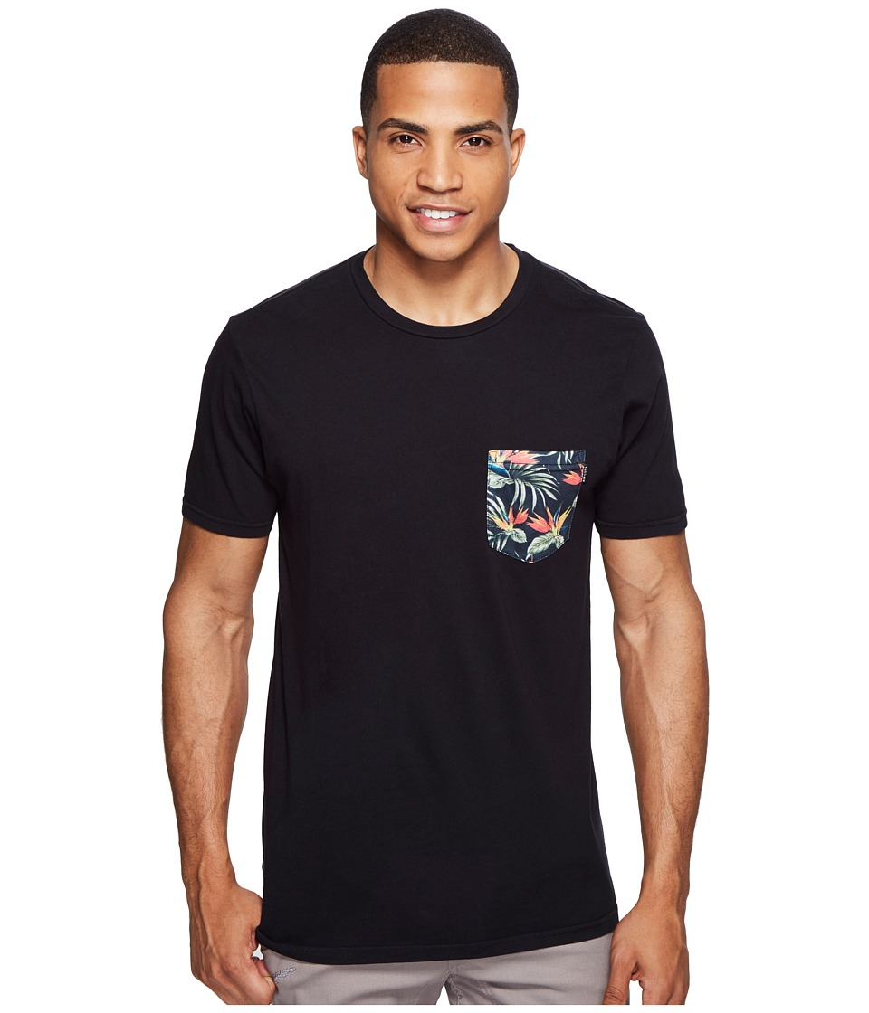 Rip Curl - Values Pocket Custom Tee (Black) Men's T Shirt