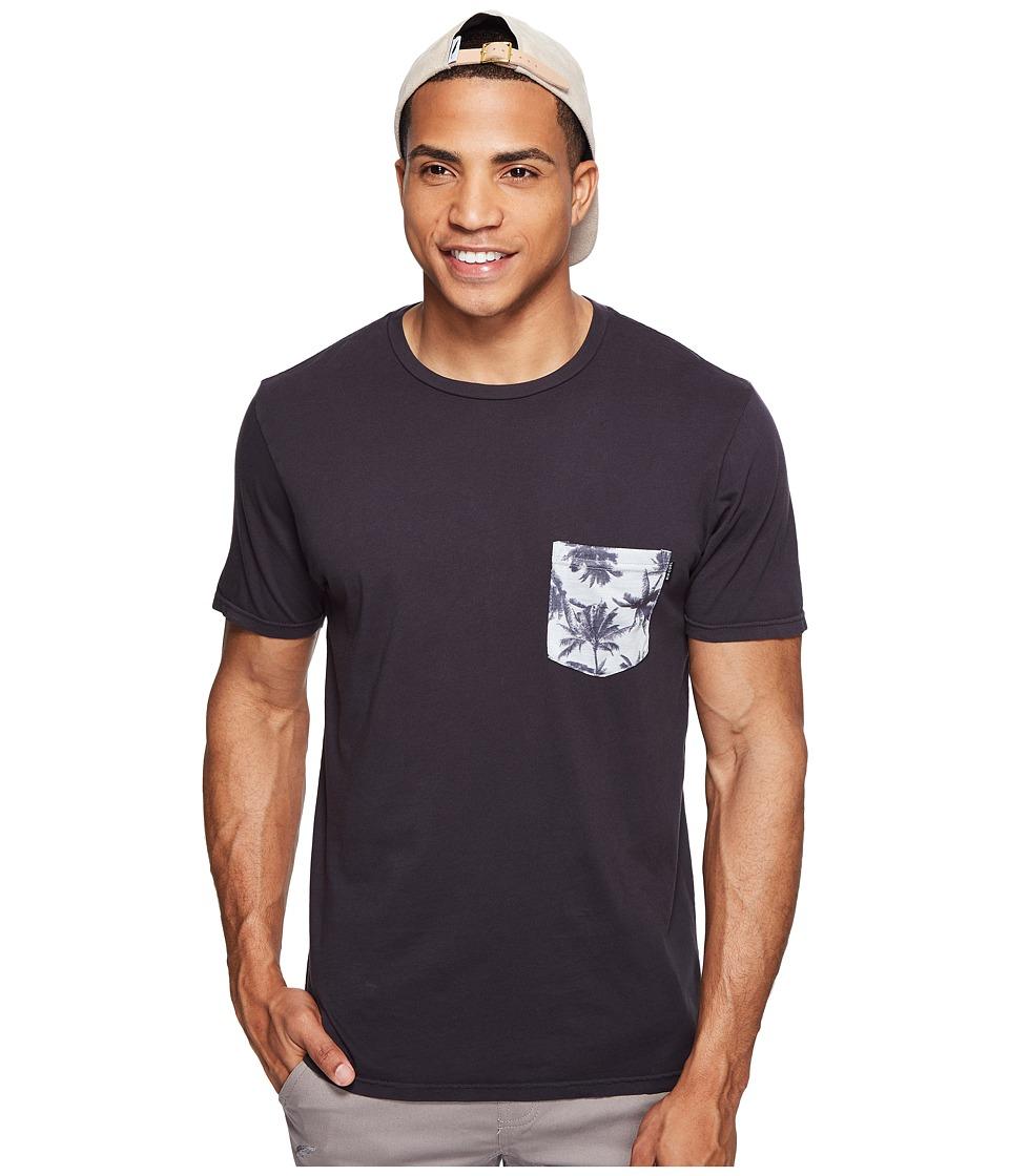 Rip Curl - Values Pocket Custom Tee (Charcoal) Men's T Shirt