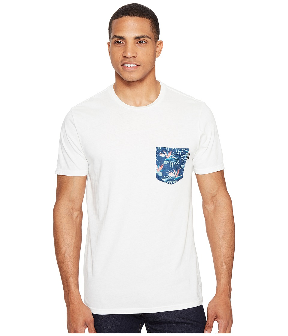 Rip Curl - Values Pocket Custom Tee (White) Men's T Shirt