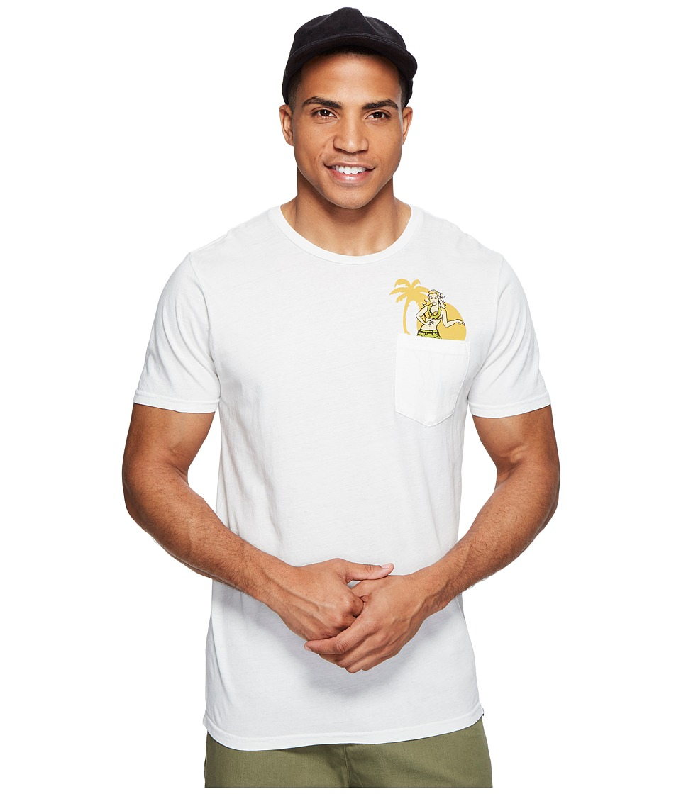 Rip Curl - Cocos Pocket Custom Tee (Off-White) Men's T Shirt