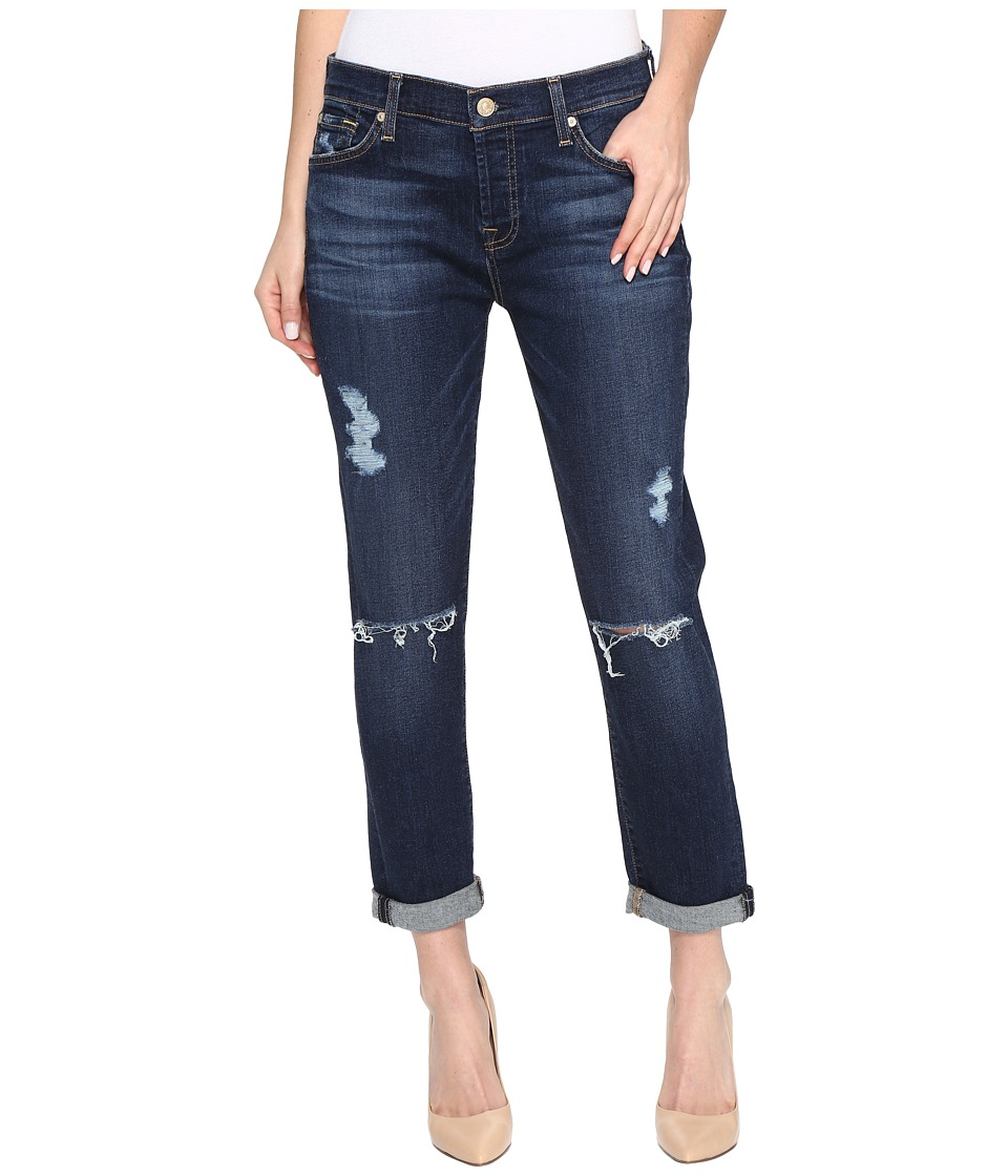 7 For All Mankind - Josefina w/ Destroy in Santiago Canyon (Santiago Canyon) Women's Jeans