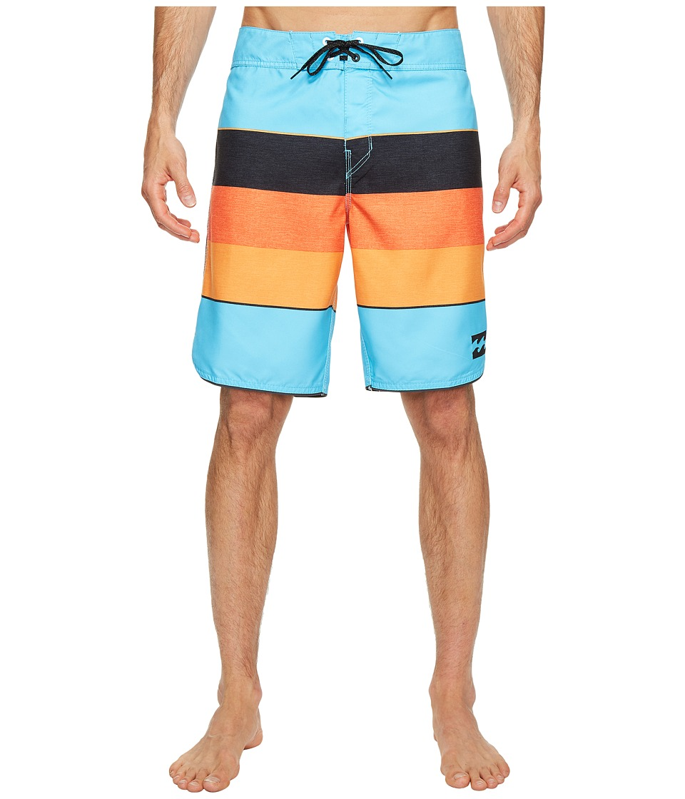 Billabong - 73 Originals Stripe Boardshorts (Coastal) Men's Swimwear