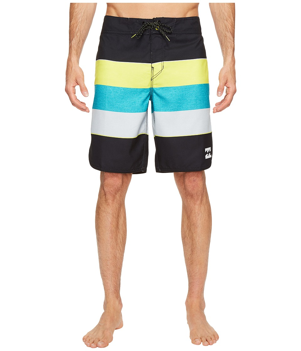 Billabong 73 Originals Stripe Boardshorts (Lime) Men