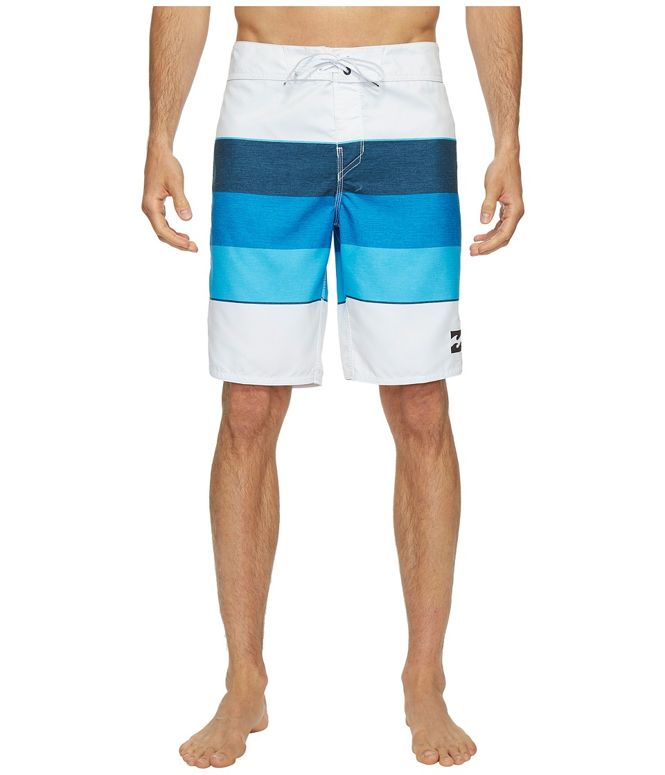 Billabong 73 Originals Stripe Boardshorts (White) Men